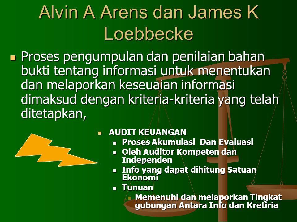 Alvin A Arens dan James K Loebbecke