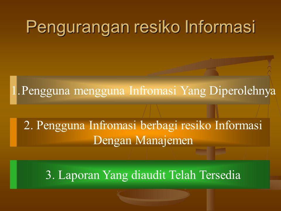Pengurangan resiko Informasi