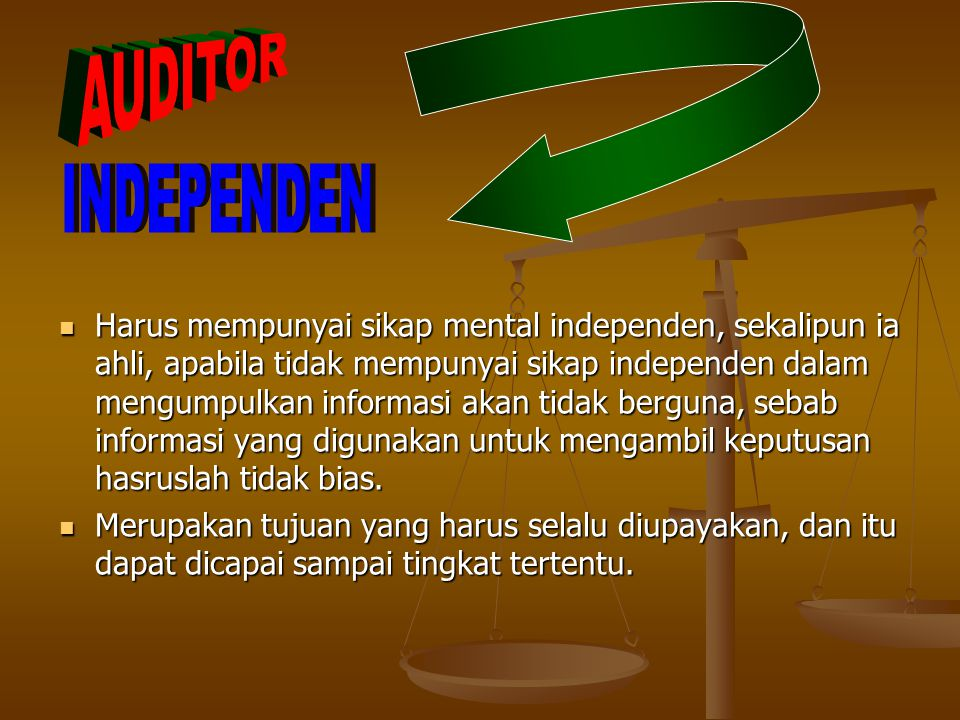 AUDITOR INDEPENDEN.