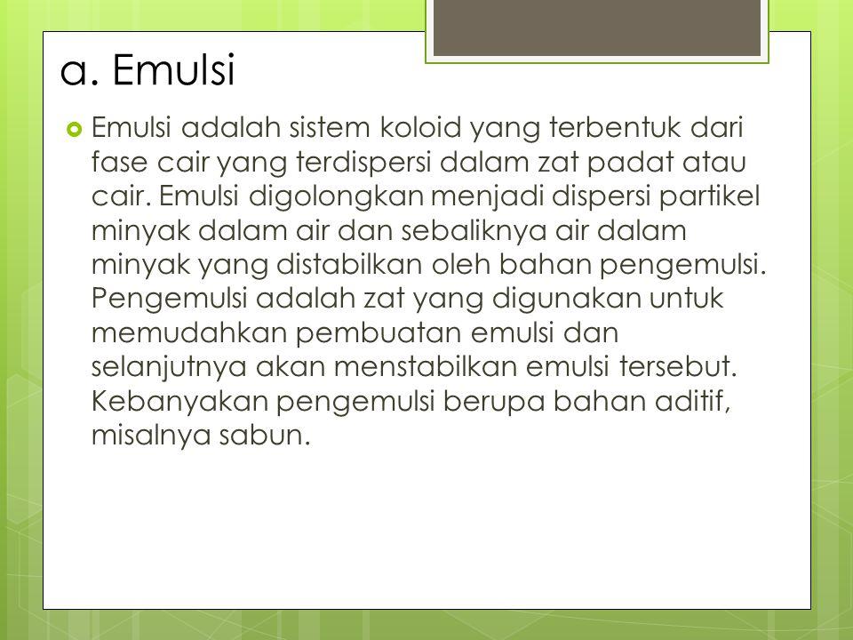 a. Emulsi