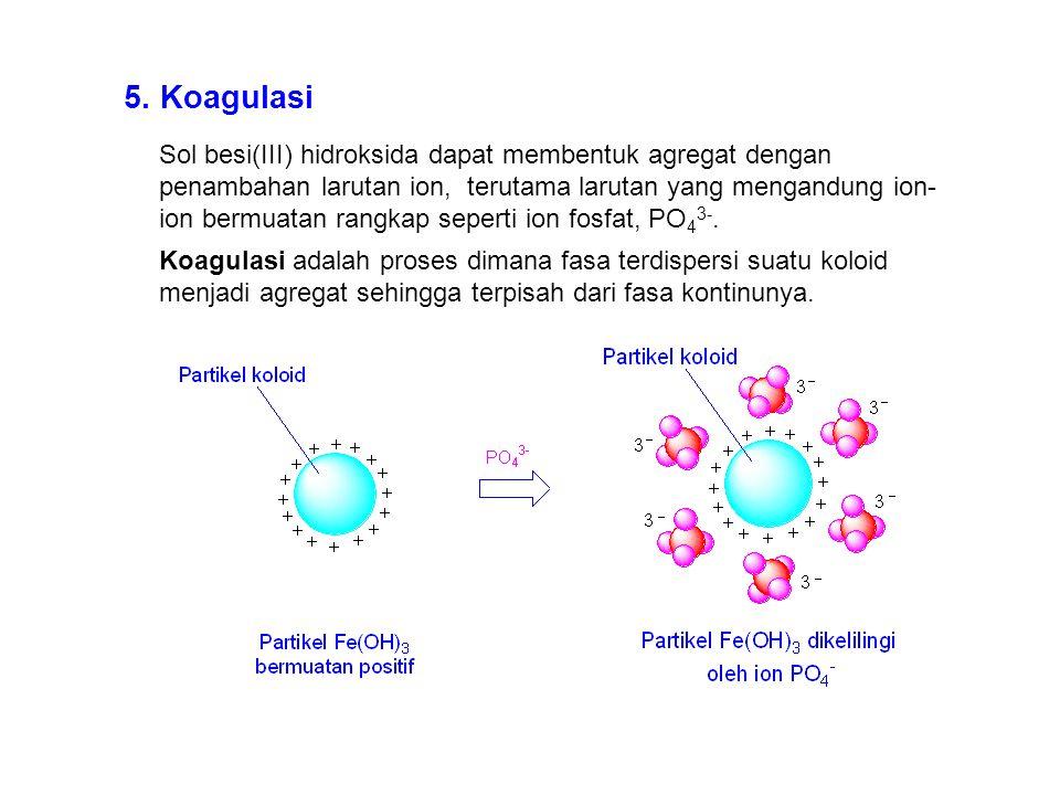 5. Koagulasi
