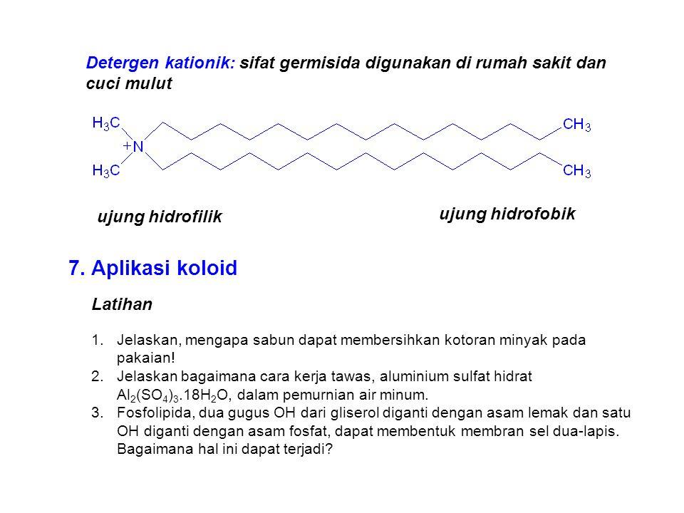Detergen kationik: sifat germisida digunakan di rumah sakit dan cuci mulut