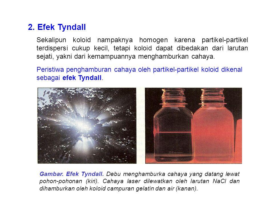 2. Efek Tyndall