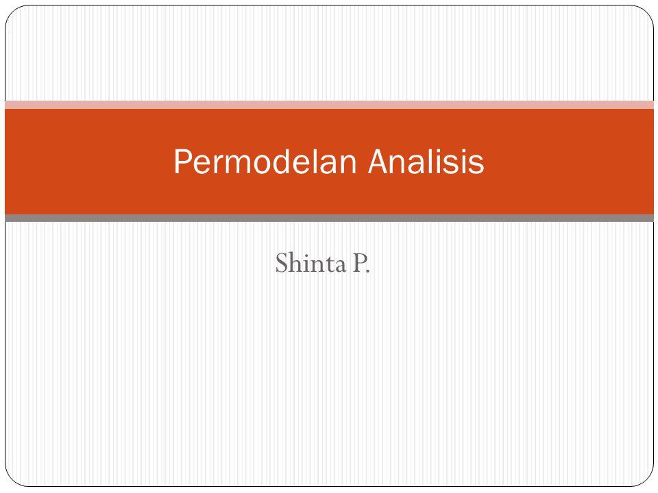 Permodelan Analisis Shinta P.