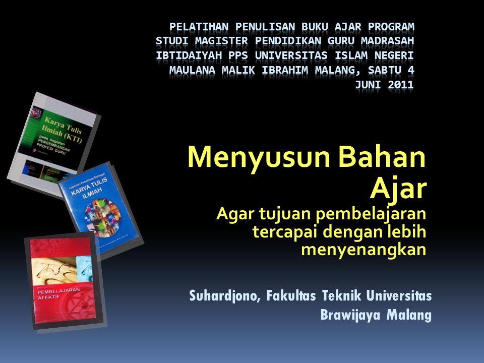 Pelatihan Penulisan Buku Ajar Program Studi Magister Pendidikan Guru Madrasah Ibtidaiyah PPS Universitas Islam Negeri Maulana Malik Ibrahim Malang, Sabtu 4 Juni 2011