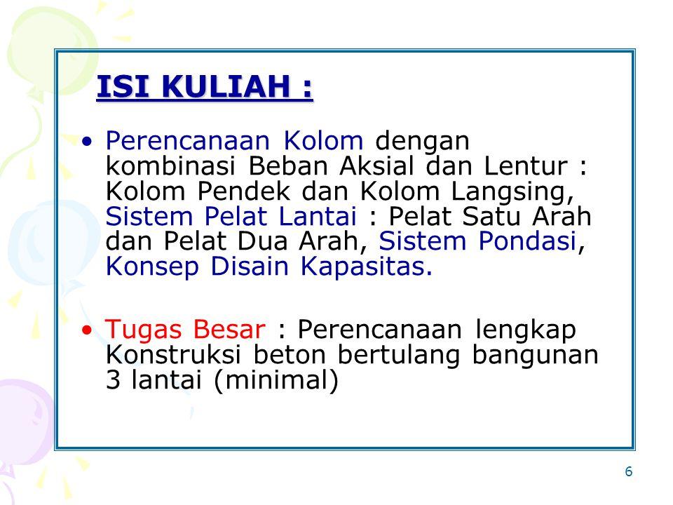 ISI KULIAH :
