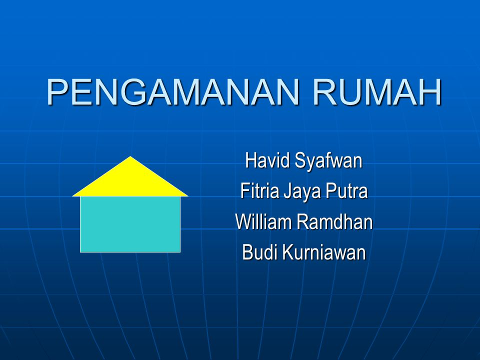 Havid Syafwan Fitria Jaya Putra William Ramdhan Budi Kurniawan