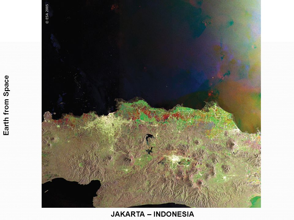 Earth from Space JAKARTA – INDONESIA