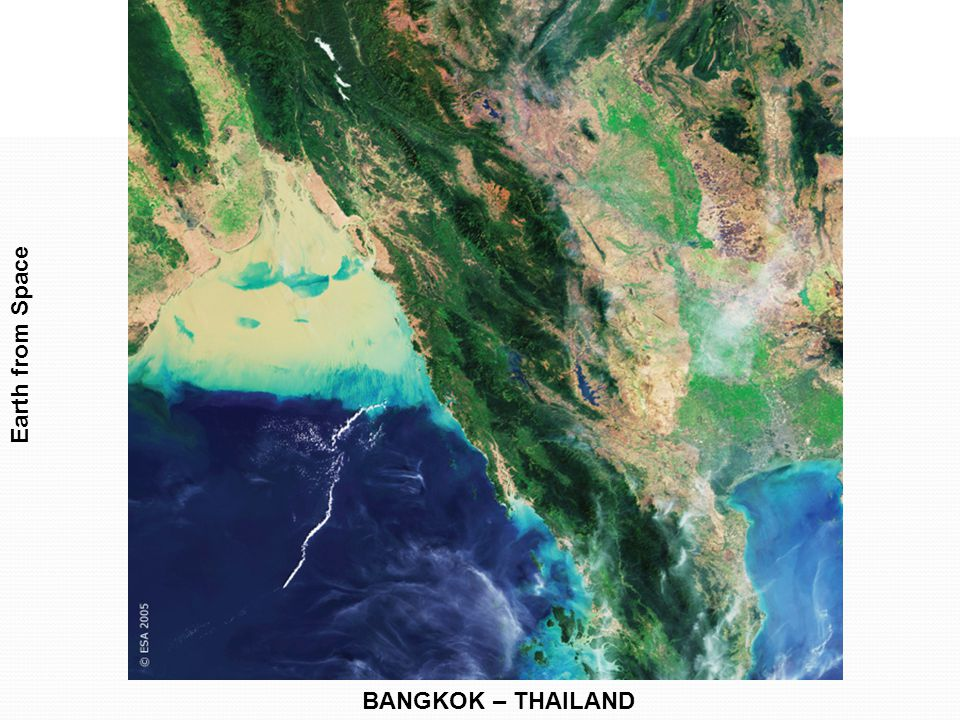 Earth from Space BANGKOK – THAILAND
