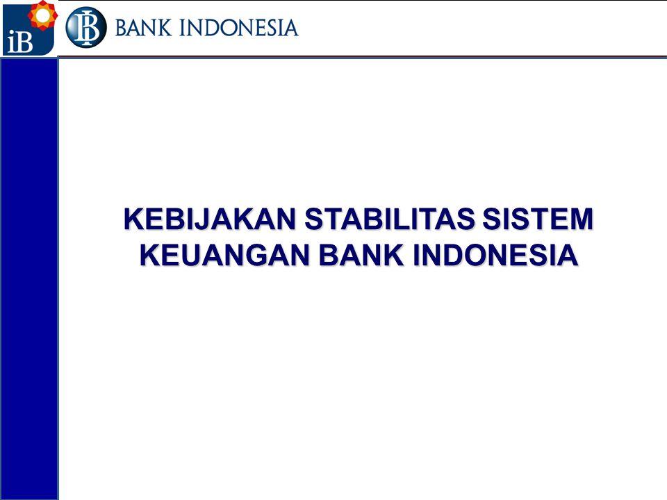KEBIJAKAN STABILITAS SISTEM KEUANGAN BANK INDONESIA