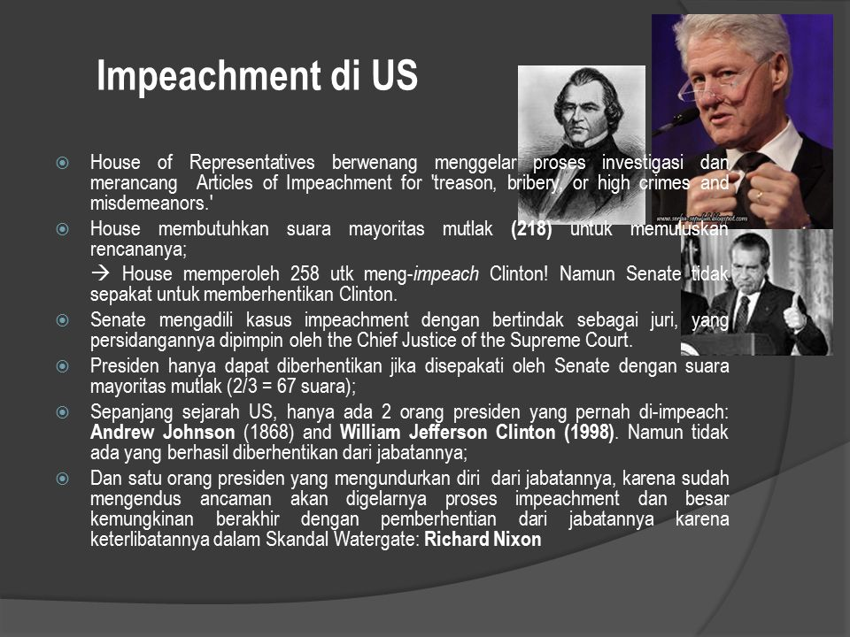 Impeachment di US