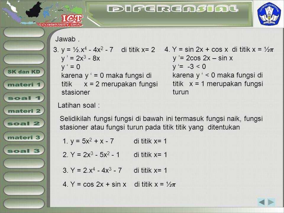 SK dan KD materi 1 soal 1 materi 2 soal 2 materi 3 soal 3 Jawab .