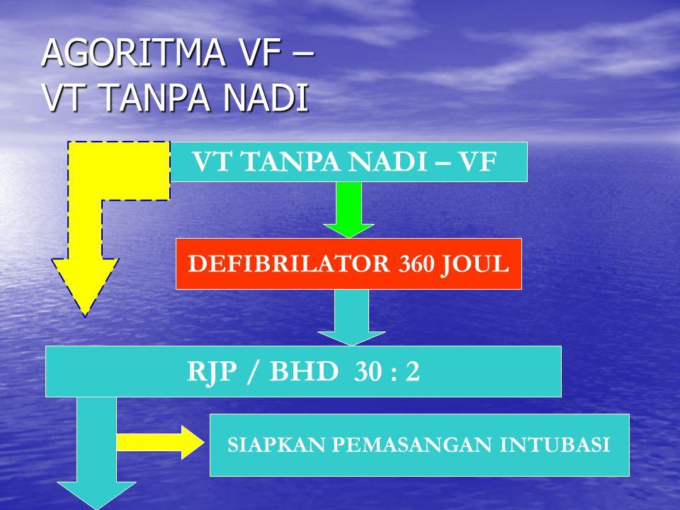 AGORITMA VF – VT TANPA NADI