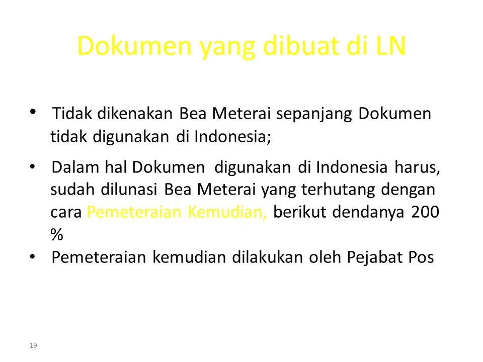 Dokumen yang dibuat di LN