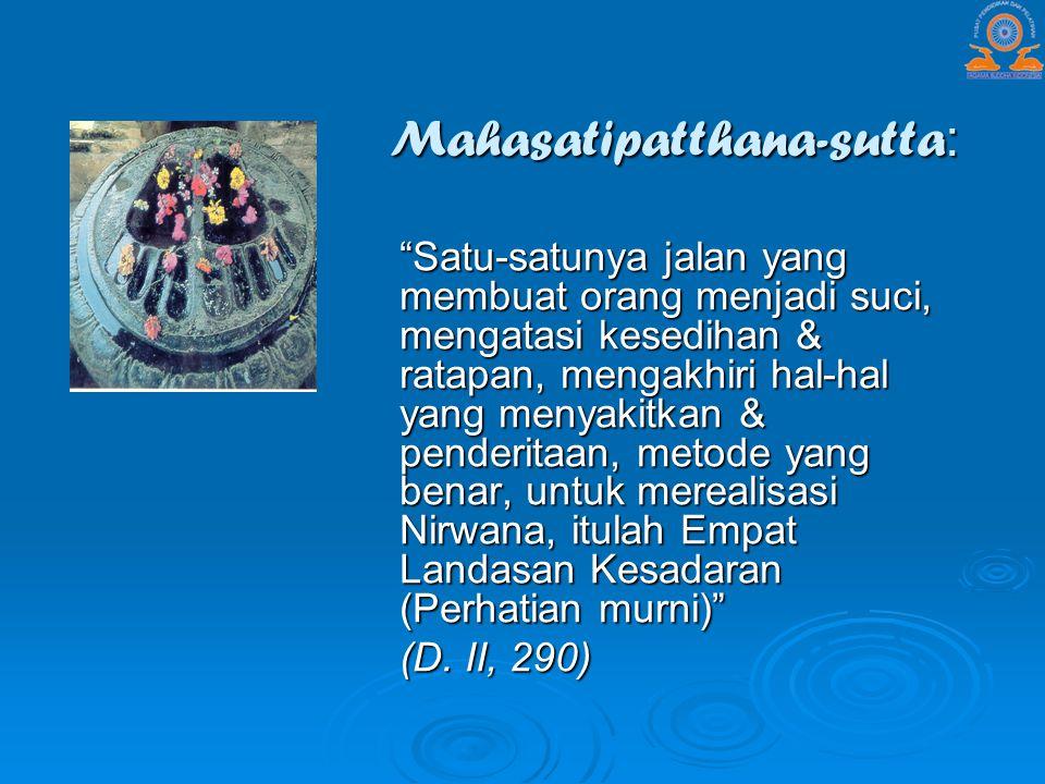 Mahasatipatthana-sutta: