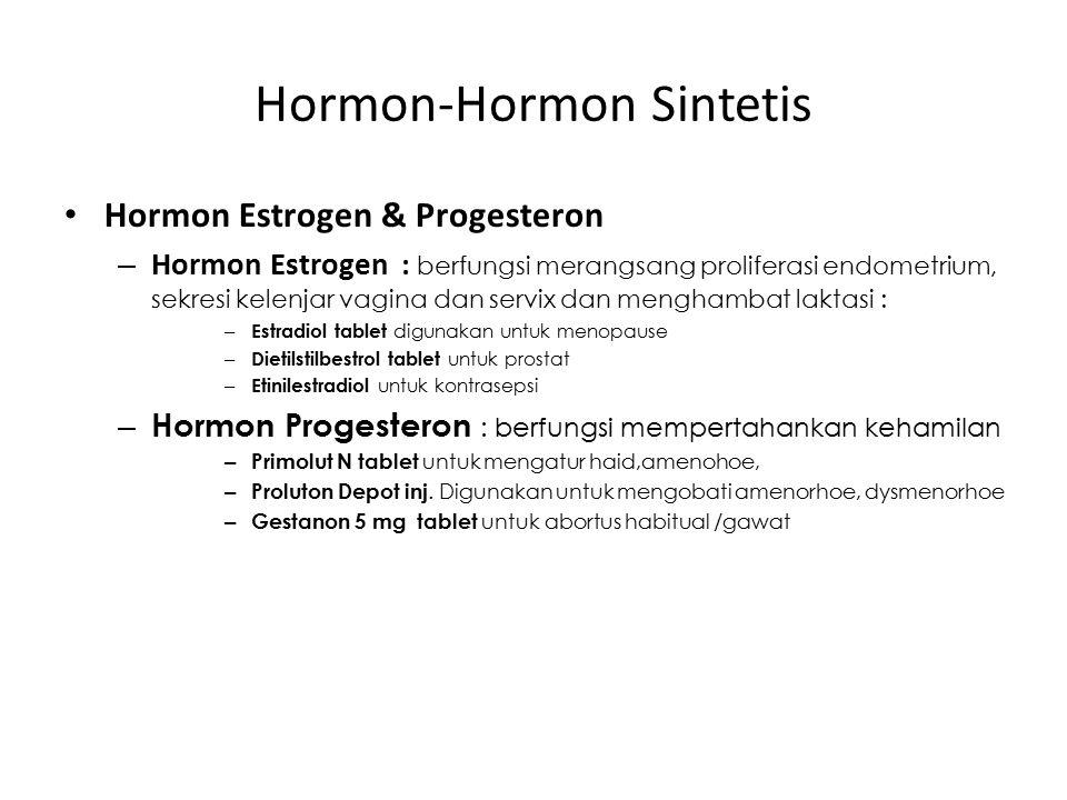 Hormon-Hormon Sintetis