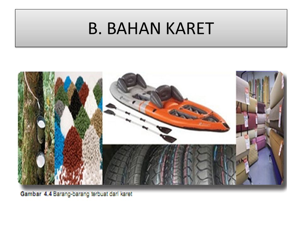 B. BAHAN KARET