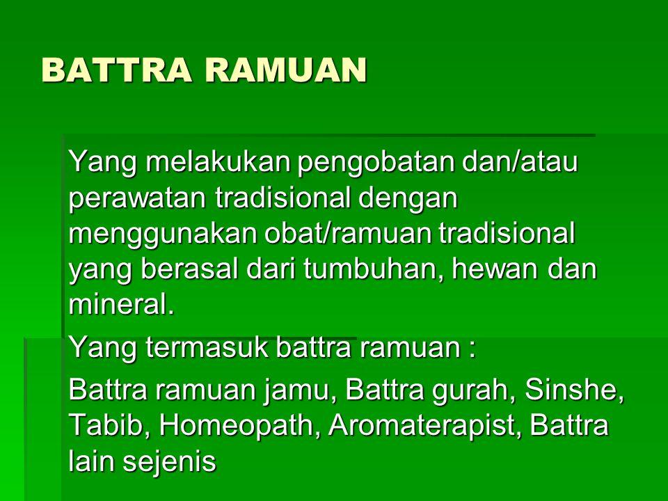BATTRA RAMUAN