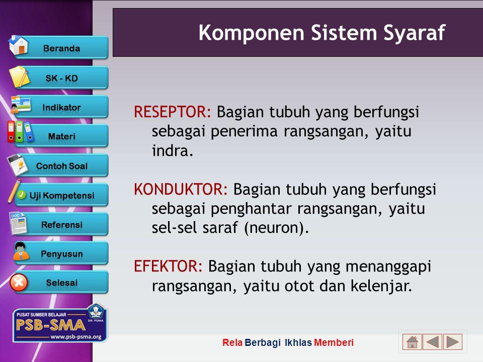 Komponen Sistem Syaraf