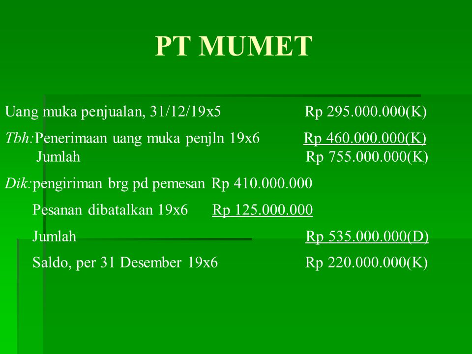 PT Komat kamit memberikan insentif berupa bonus kepada para anggota direksi sebesar 10% dari jumlah laba setelah dikurangi bonus, tetapi sebelum dikurangi pajak penghasilan.