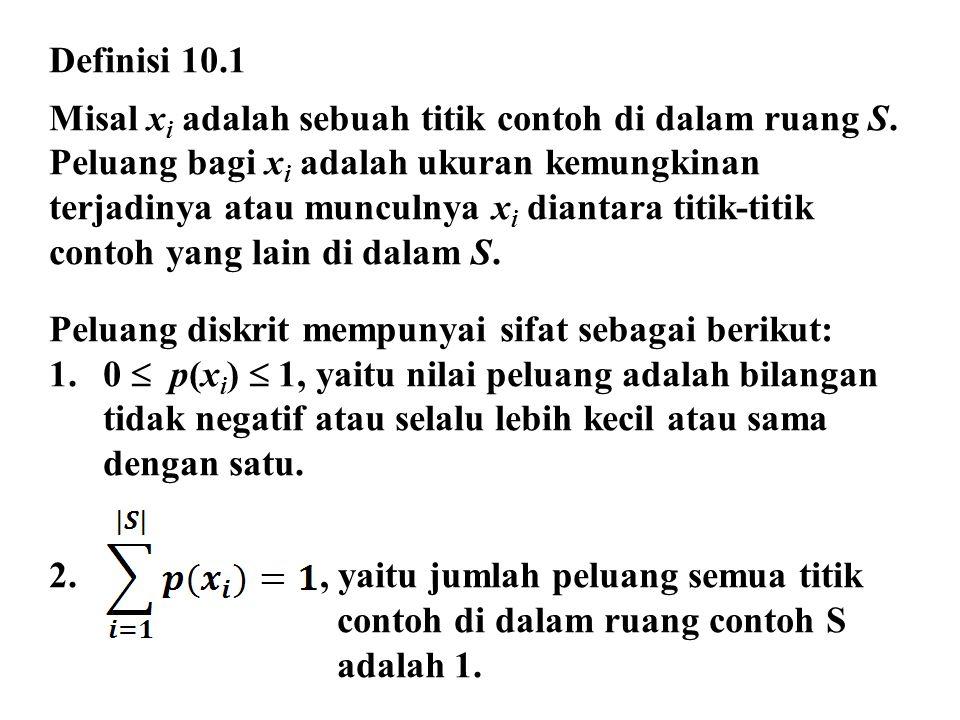 Definisi 10.1