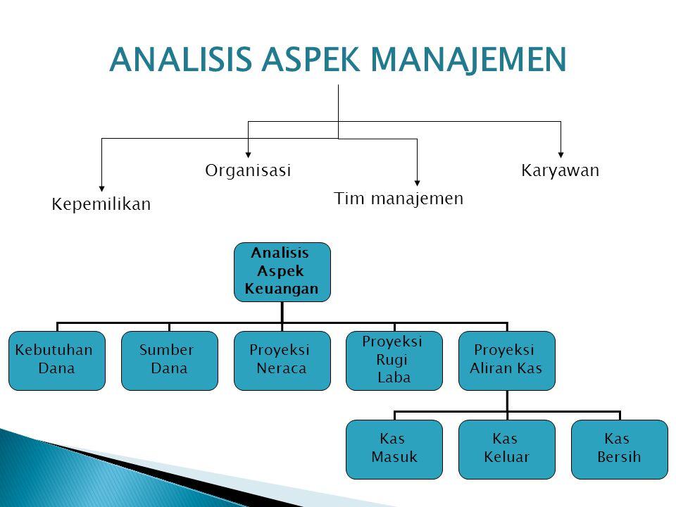 Analisis Aspek Manajemen
