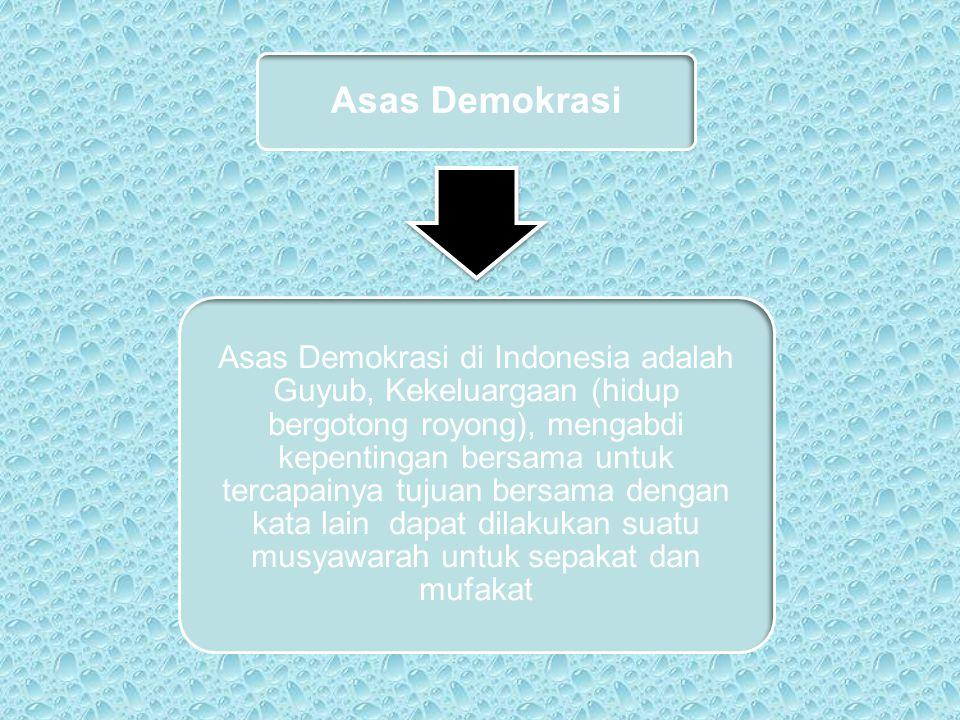 Asas Demokrasi