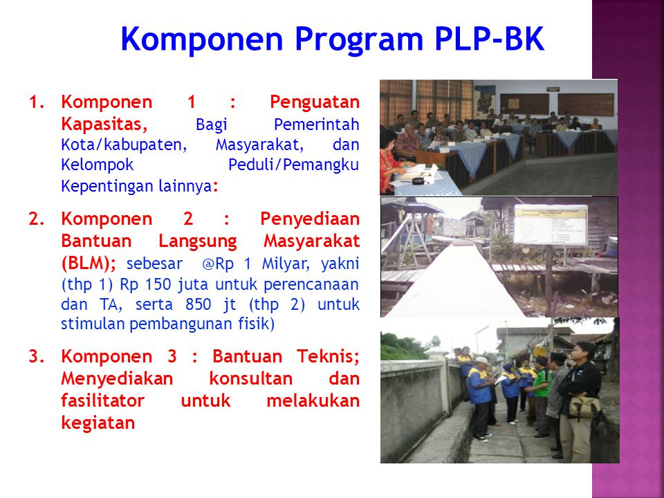 Komponen Program PLP-BK