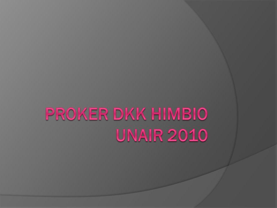 PROKER DKK HIMBIO UNAIR 2010