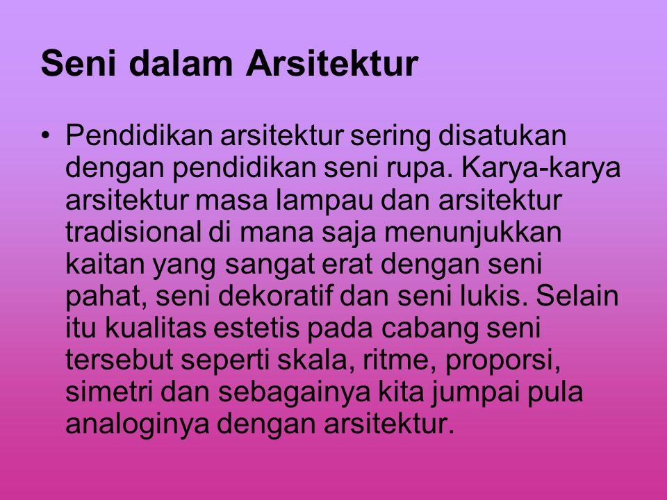 Seni dalam Arsitektur