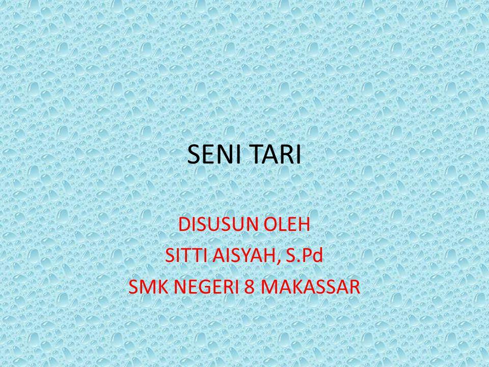 DISUSUN OLEH SITTI AISYAH, S.Pd SMK NEGERI 8 MAKASSAR