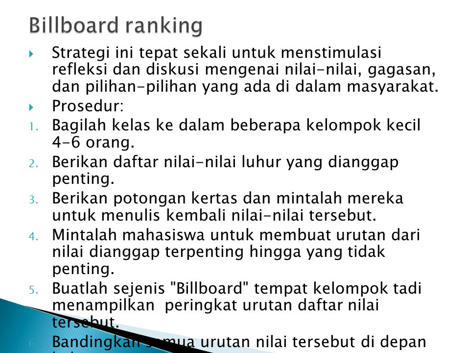 Billboard ranking