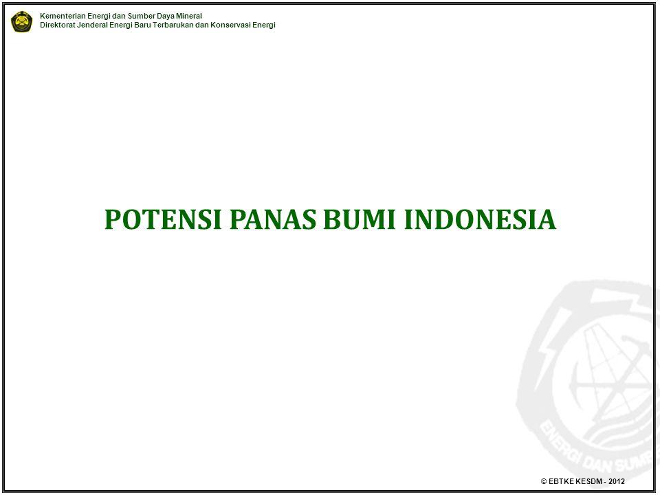 POTENSI PANAS BUMI INDONESIA