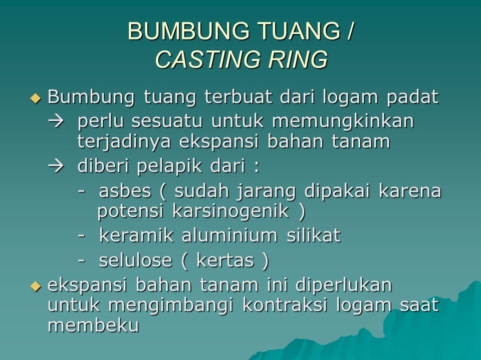 BUMBUNG TUANG / CASTING RING