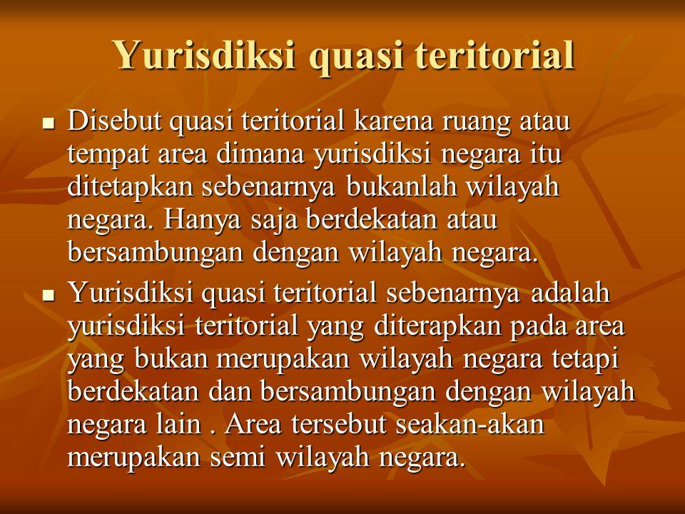 Yurisdiksi quasi teritorial