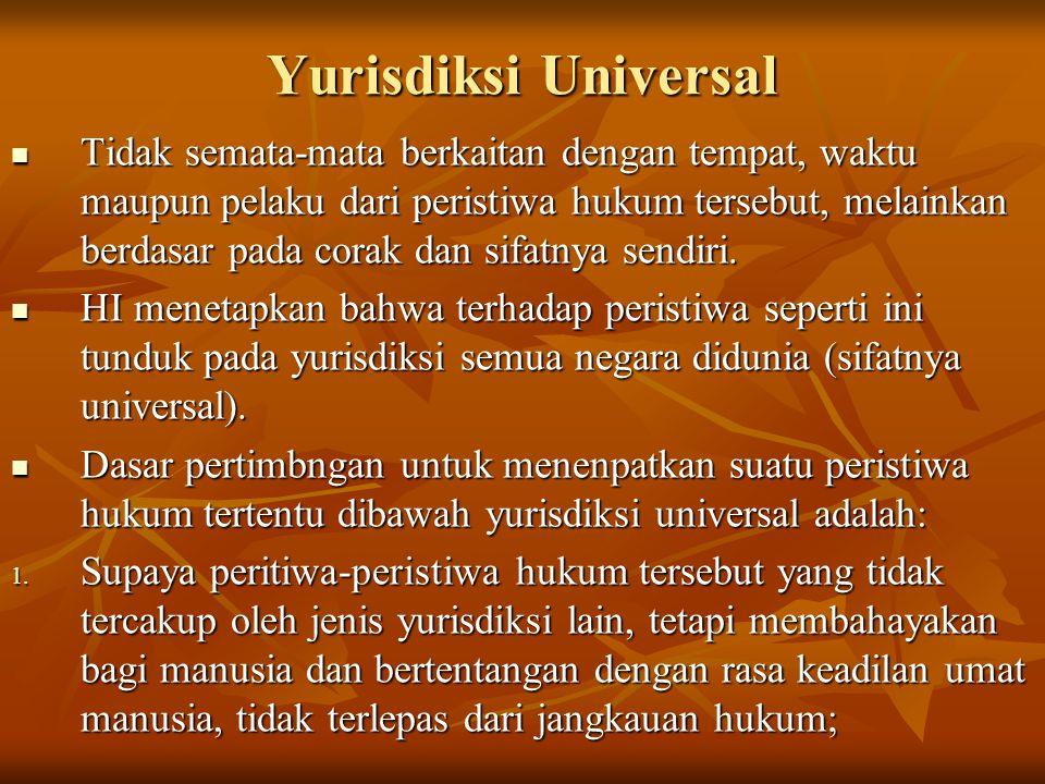 Yurisdiksi Universal