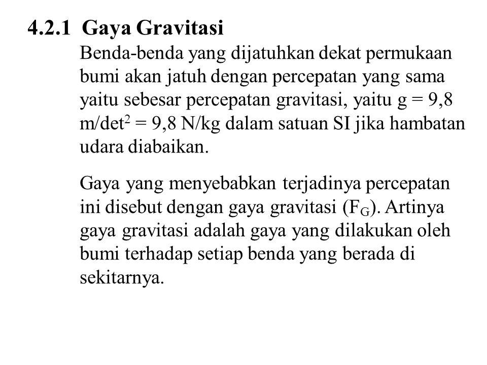 4.2.1 Gaya Gravitasi