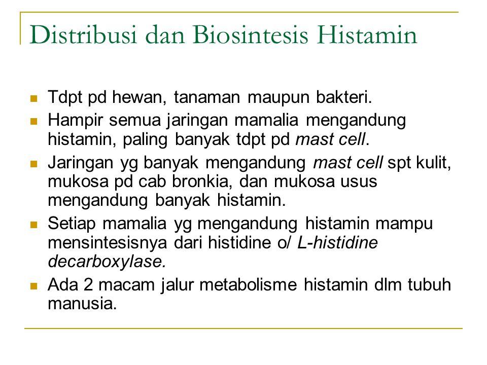 Distribusi dan Biosintesis Histamin