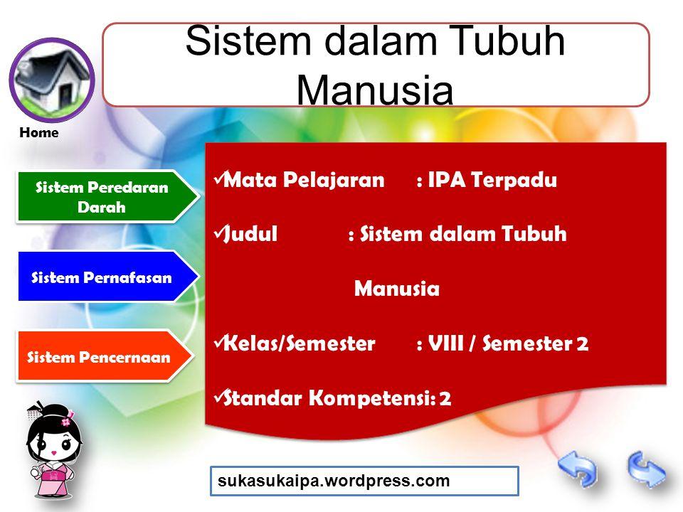 Sistem dalam Tubuh Manusia