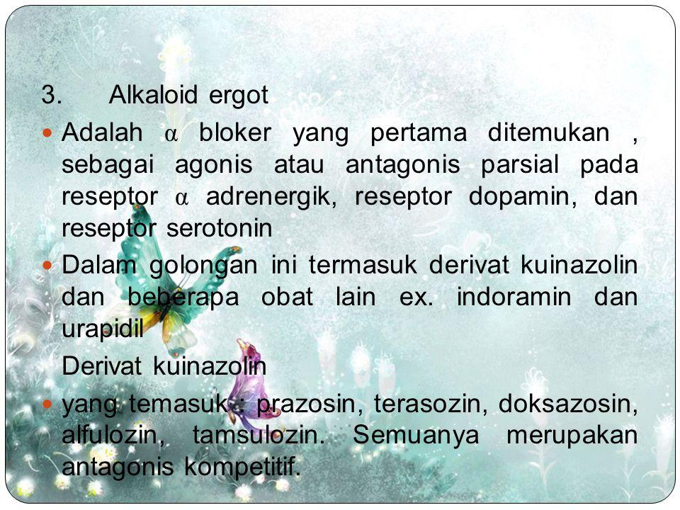 3. Alkaloid ergot