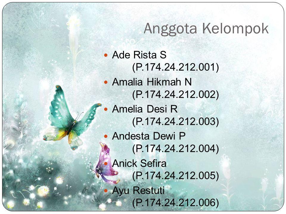 Anggota Kelompok Ade Rista S (P.174.24.212.001)