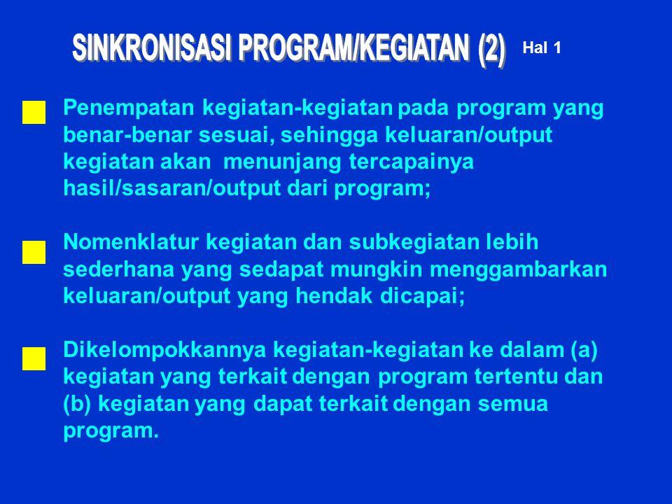 SINKRONISASI PROGRAM/KEGIATAN (2)