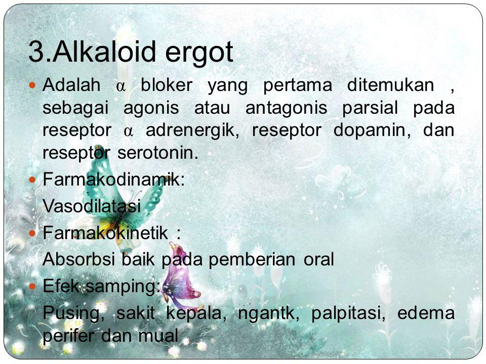 3.Alkaloid ergot