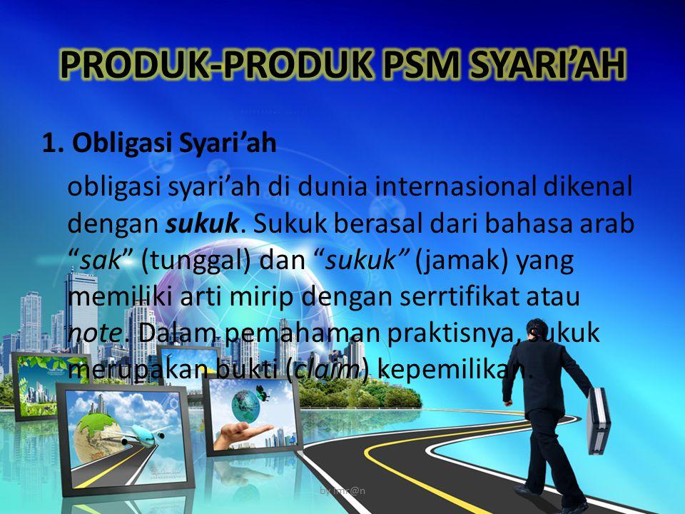 PRODUK-PRODUK PSM SYARI'AH