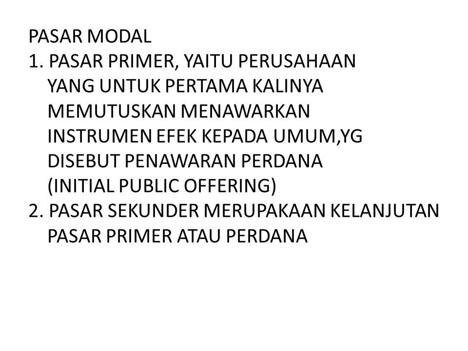 PASAR MODAL 1.