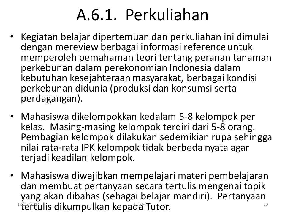 A.6.1. Perkuliahan
