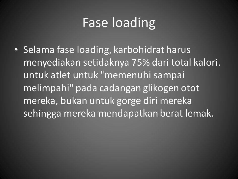 Fase loading