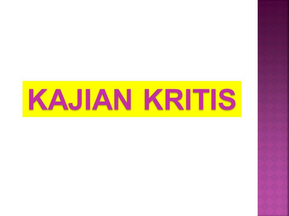 KAJIAN KRITIS