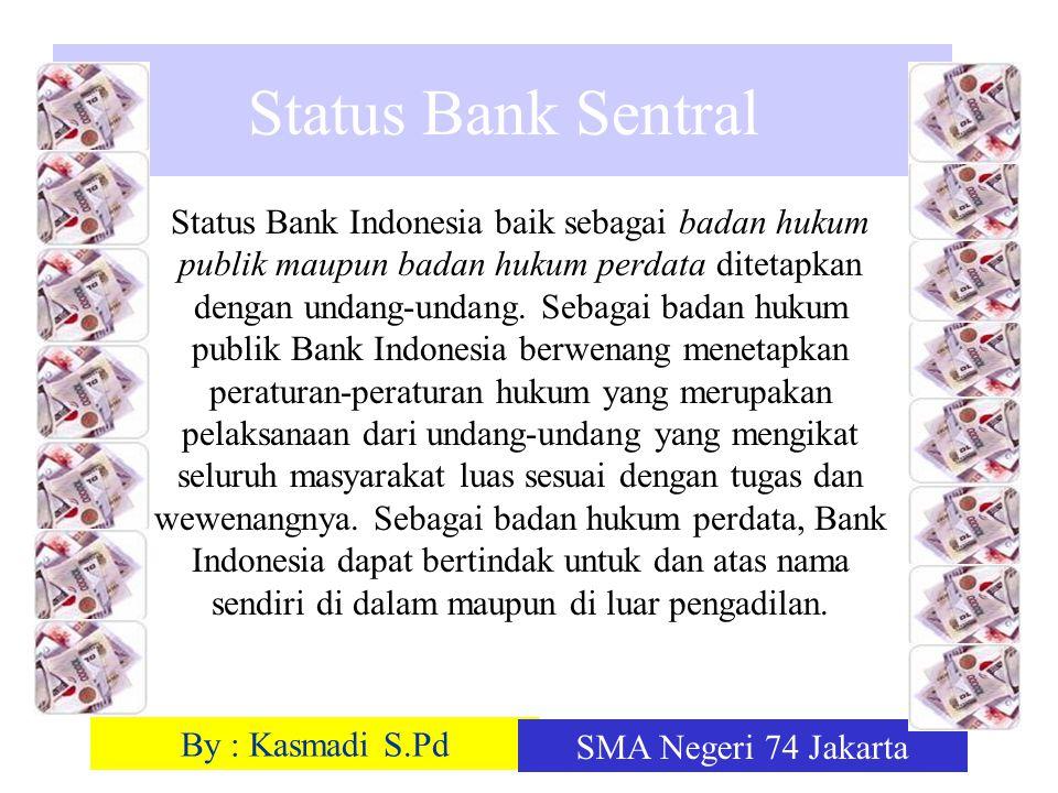 Status Bank Sentral