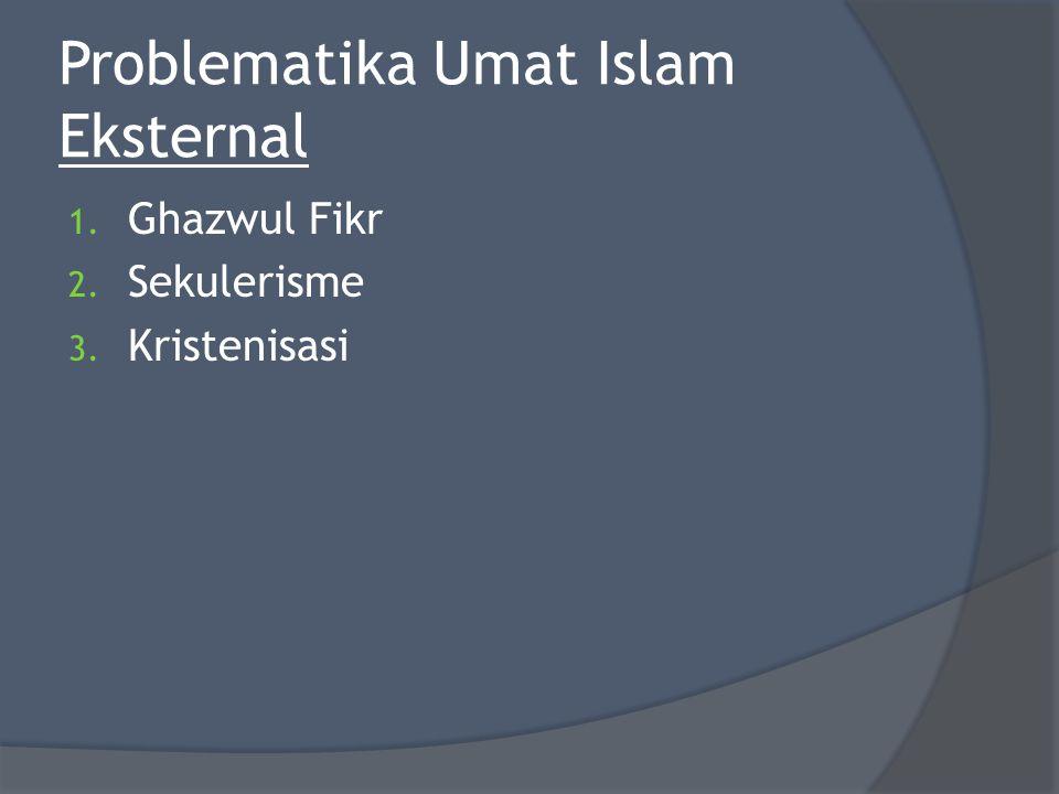 Problematika Umat Islam Eksternal